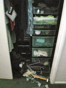 Closet Organizing - BEFORE - Oakland, CA
