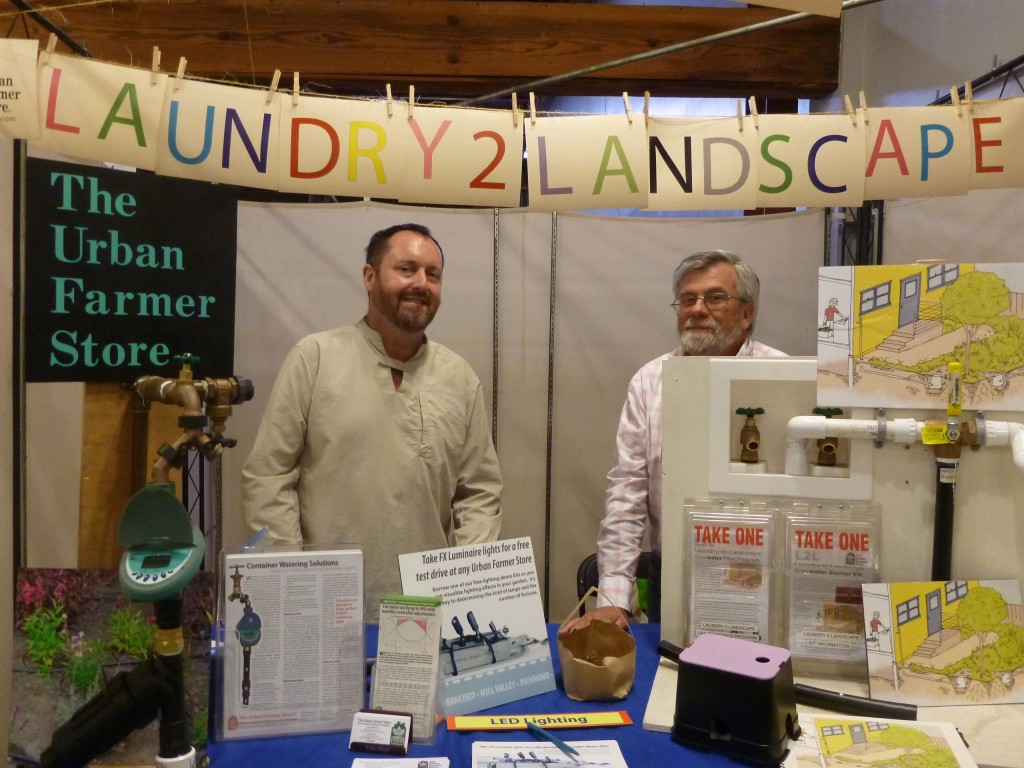 San Francisco Green Festival laundry to landscape