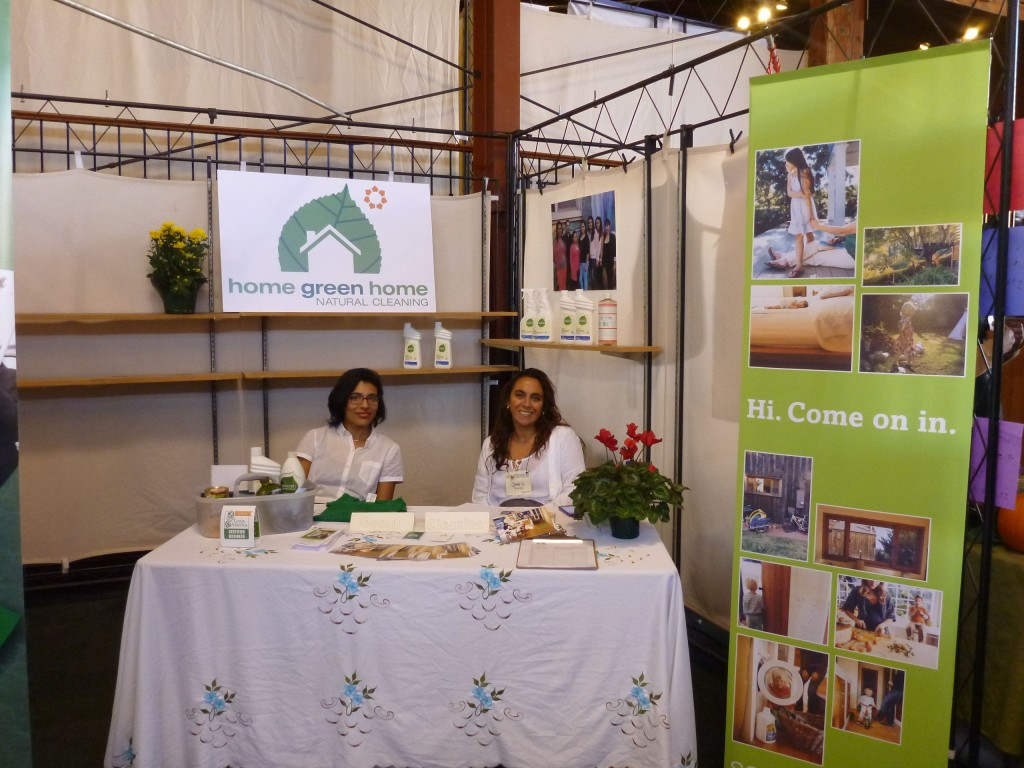 San Francisco Green Festival natural home cleaning