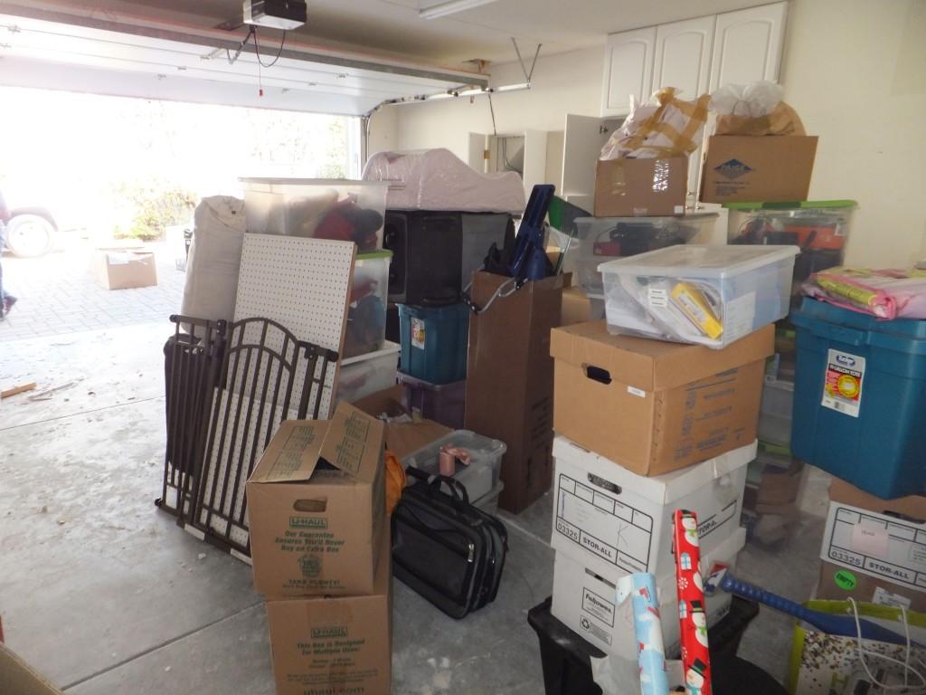 garage organizing los gatos before 9