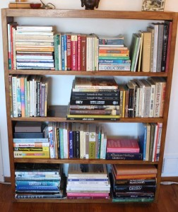 books_declutter_minimalize_downsize_organize