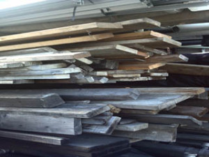 our wood stock that we pull from.