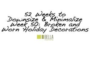 Broken Holiday Decorations